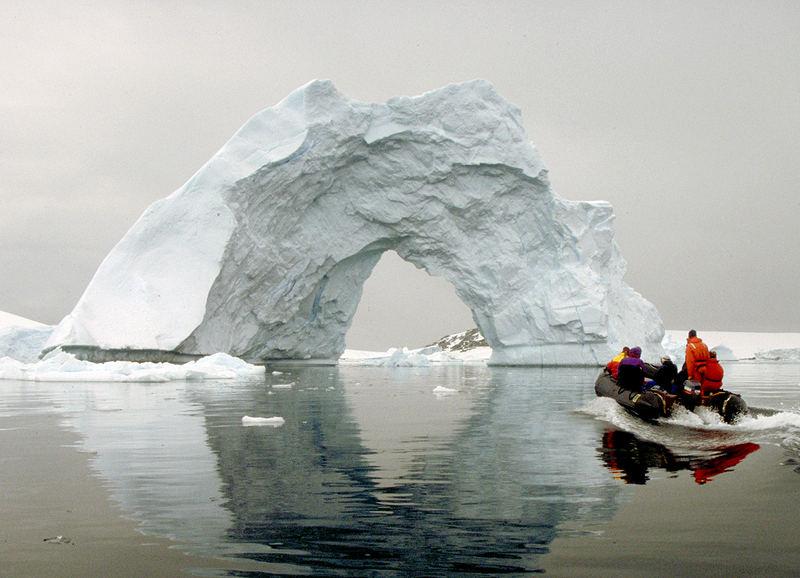 Das Tor zur Antarktis