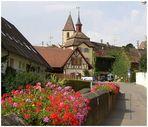 Das Tor zur mittelalterlichen Altstadt von Burkheim