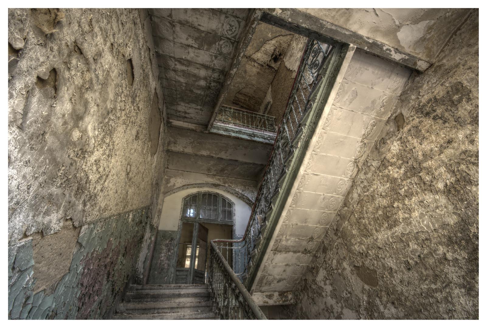 Das Treppenhaus....