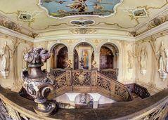 Das Treppenhaus des Klosters Marienstatt