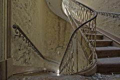 das Treppenhaus...