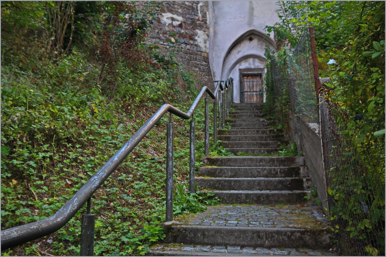 Das Treppensteigen war erfolglos