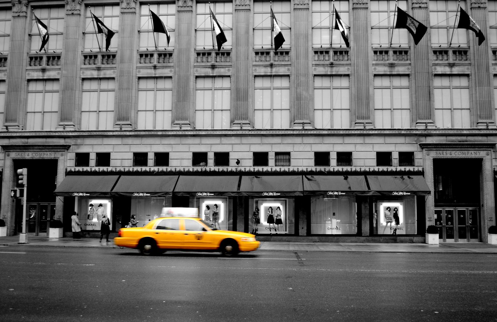 Das typische Taxifoto ;)