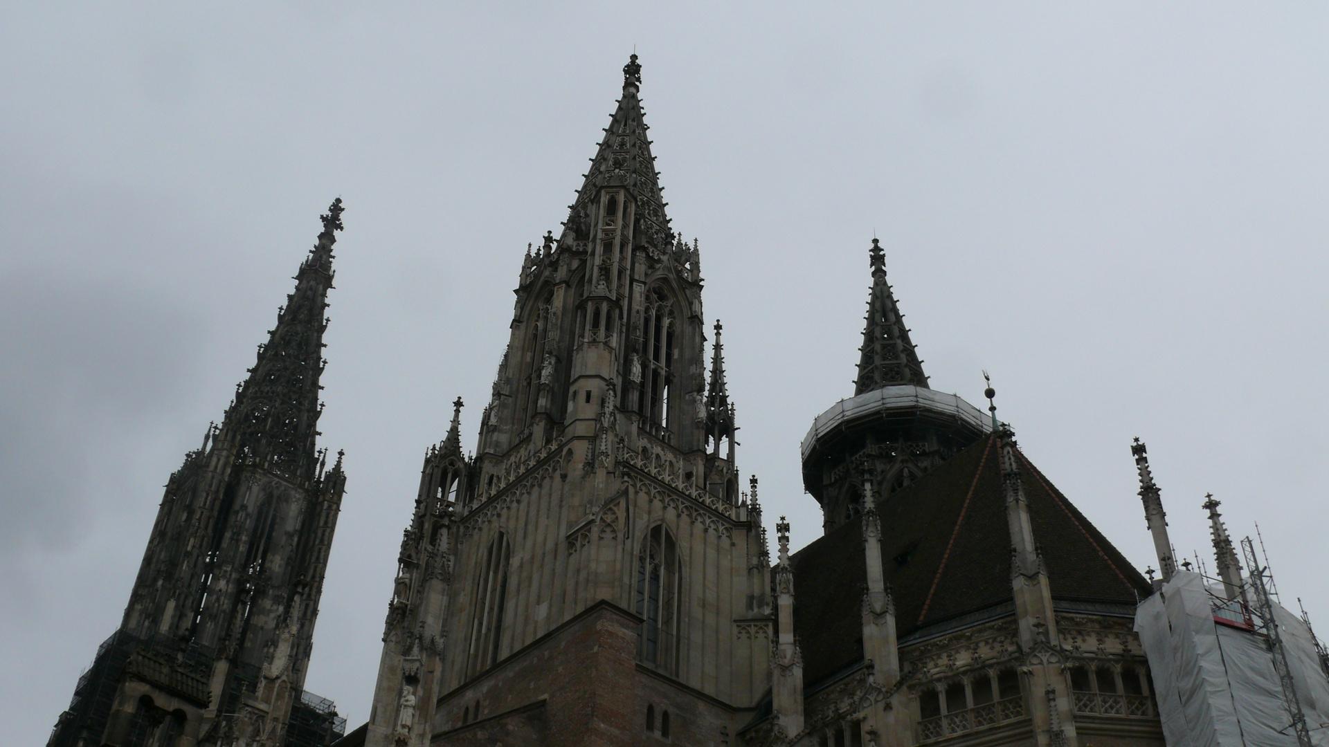 das Ulmer Münster-turmgewaltig 6.10.13