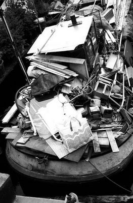 Das unordentlichste Boot der Welt