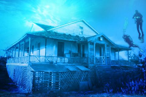 das Unterwasserhaus