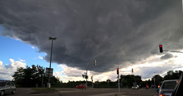 Das Unwetter droht (Handy Lumia 830)