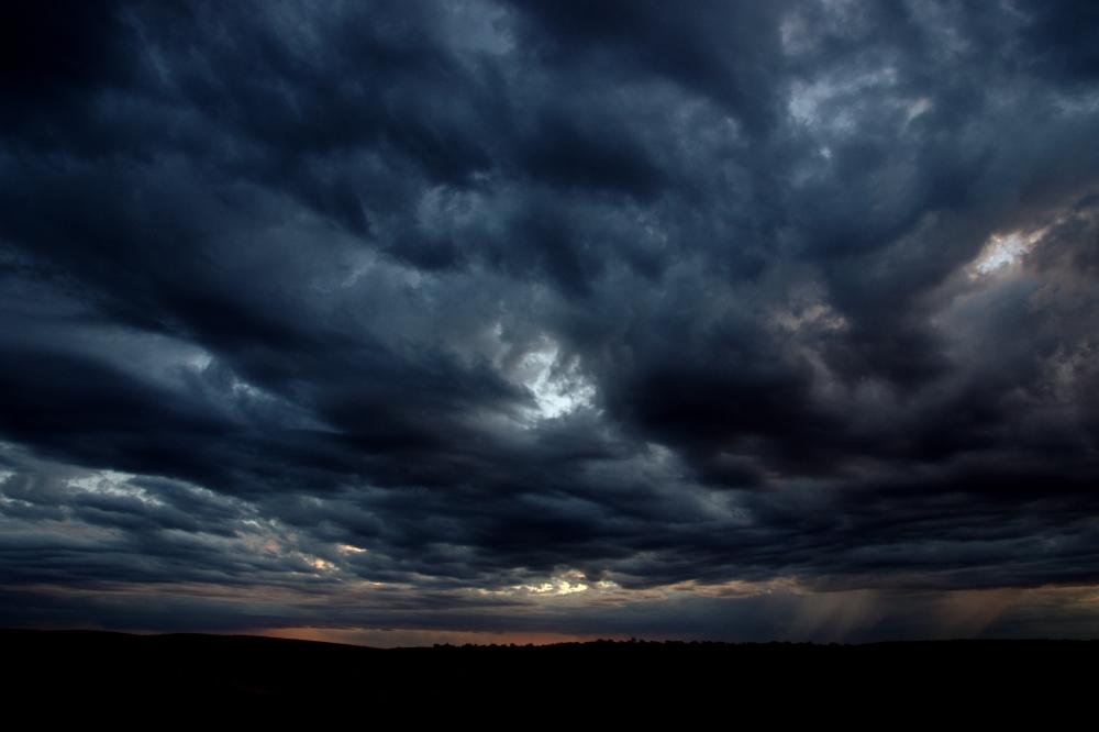 Das Unwetter naht