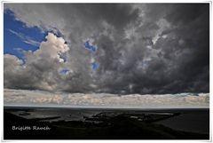 Das Unwetter zieht weiter Richtung Festland