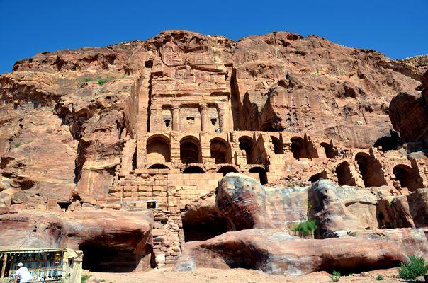 Das Urnengrab an der Königswand in Petra