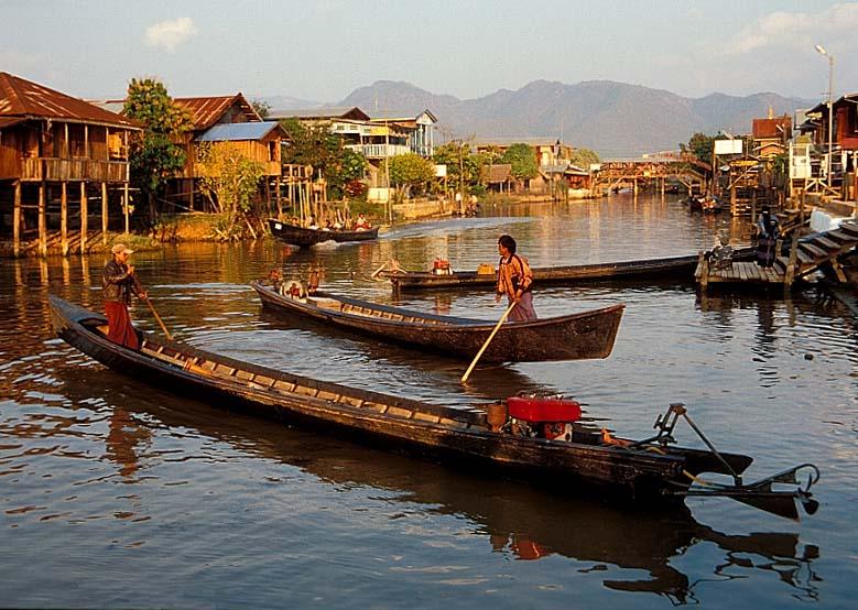 Das Venedig von Myanmar