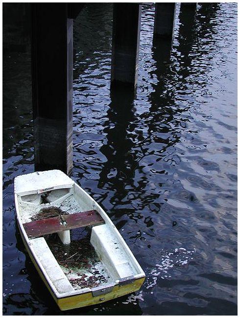 Das vergessene Boot.
