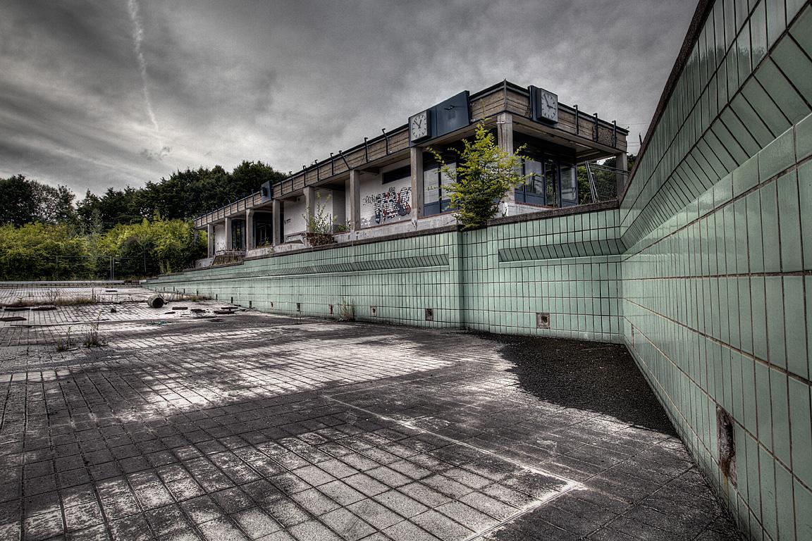 Das verlassene Freibad