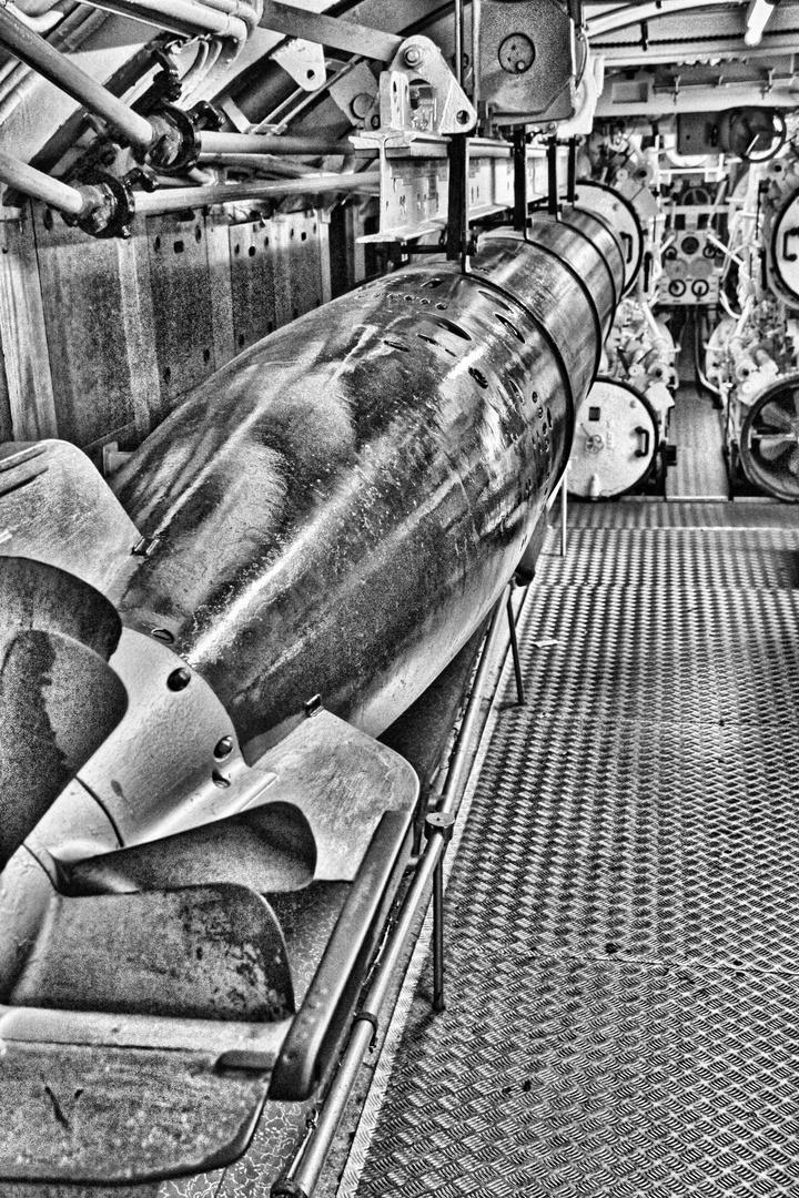Das verlorene U-Boot - Torpedoraum