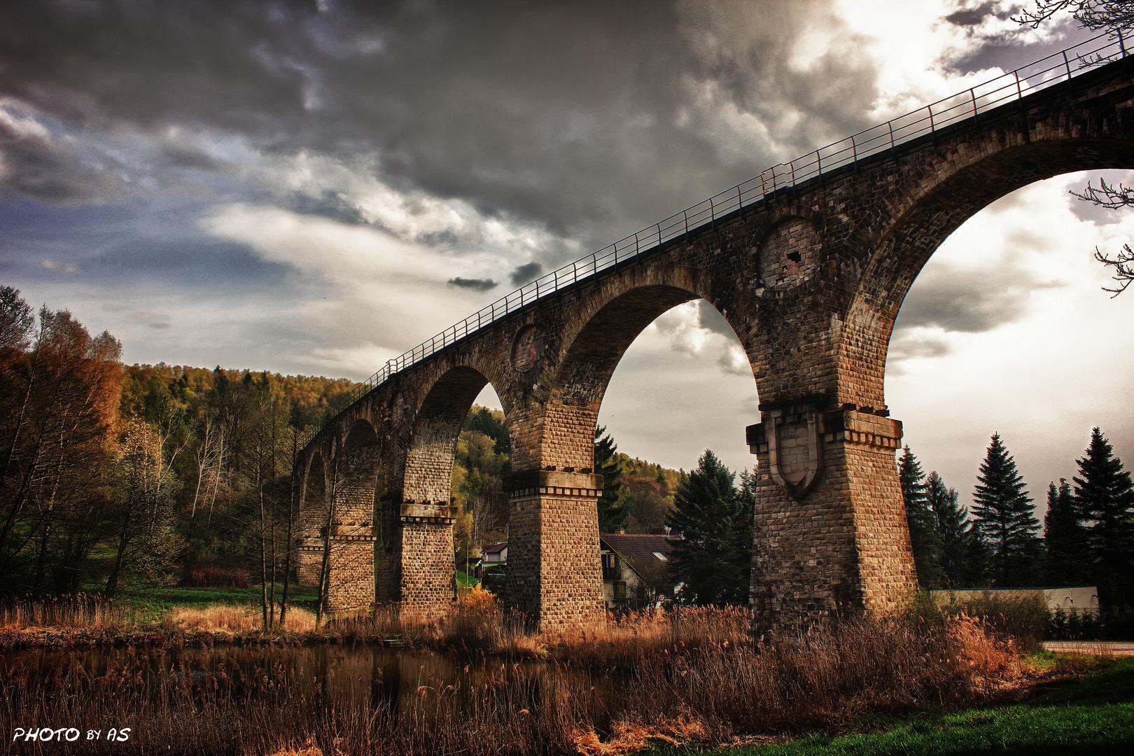 Das Viadukt bei Sonneberg