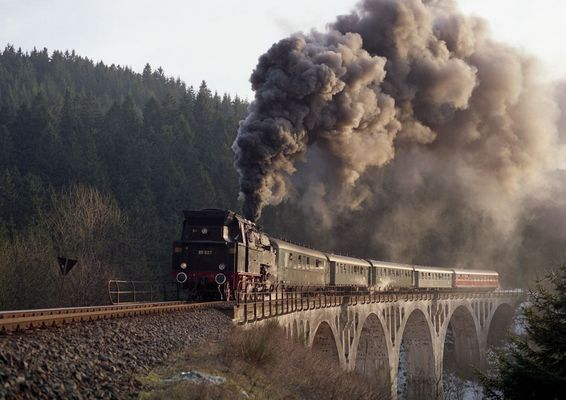 Das Viadukt Nasse Delle