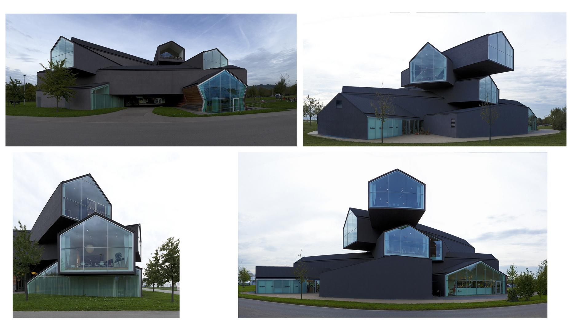 Das Vitra-Haus. Seitenansichten