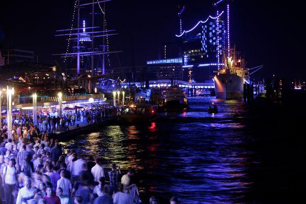 das Volksfest : Hamburg Cruise Days 2012