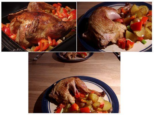 Das vorweihnachtliche Huhn