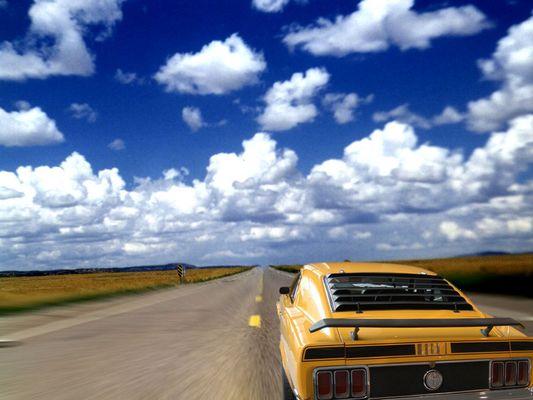 Das wär mein Auto. Der 1970er Ford Mustang Mach 1