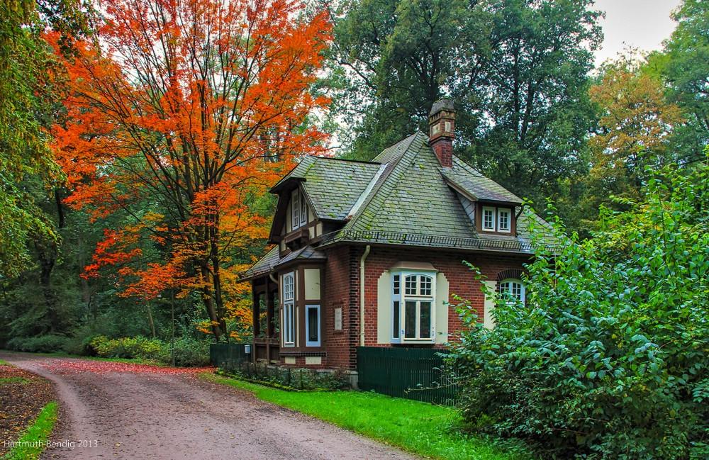 das Wätjen Haus im Bürgerpark