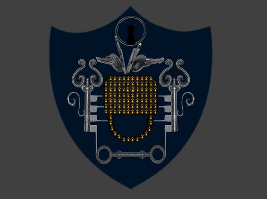 Das Wappen der Schlösser
