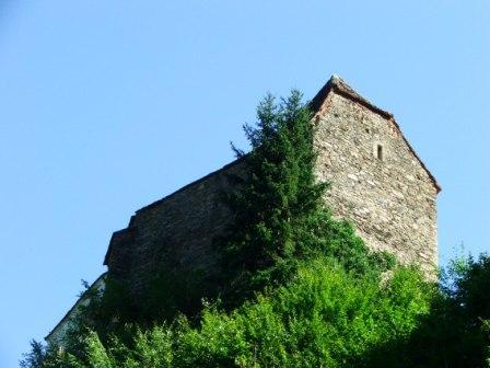Das war der erste Bauabschnitt von Schloss Herberstein, Steiermark