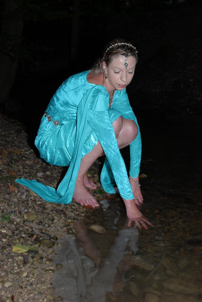Das Wasser der Seelenreinigung.