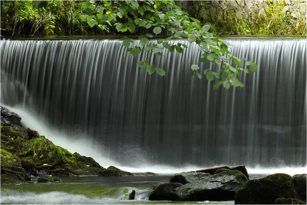 Das Wasser fließen lassen