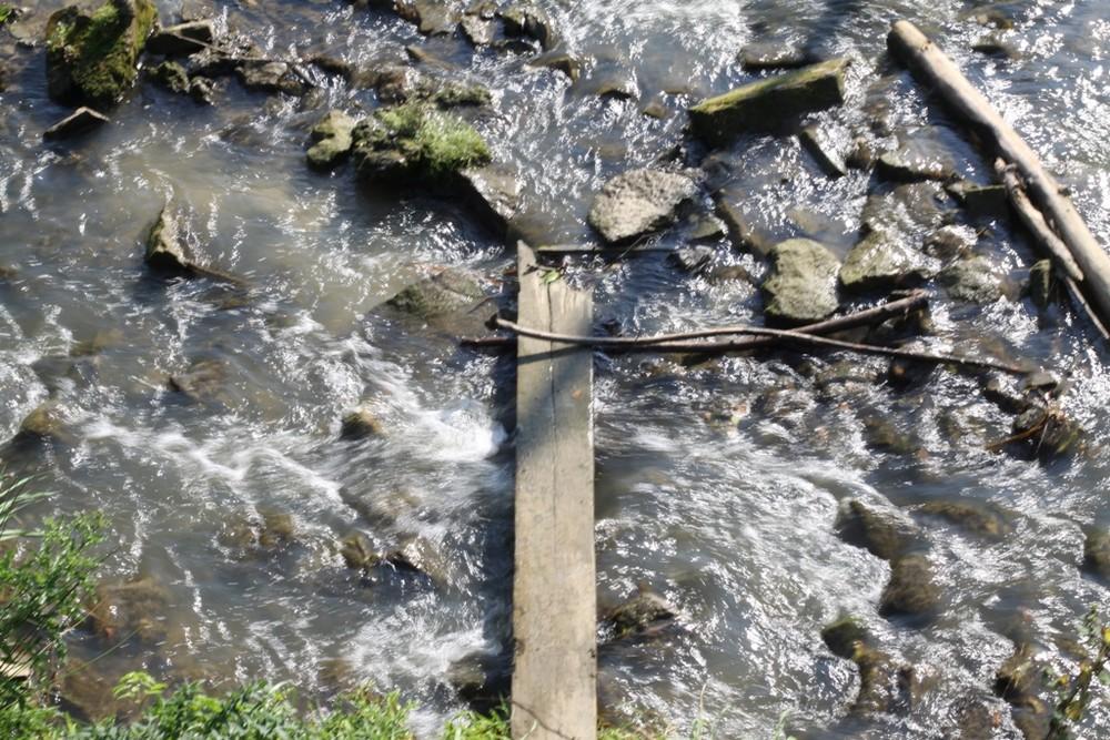Das Wasser läuft....