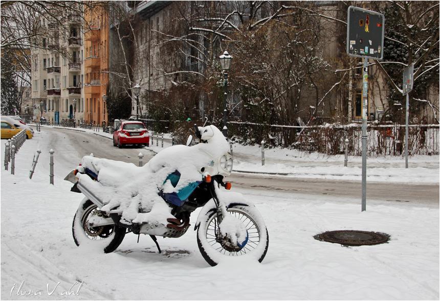 Das weiße Grauen in Berlin