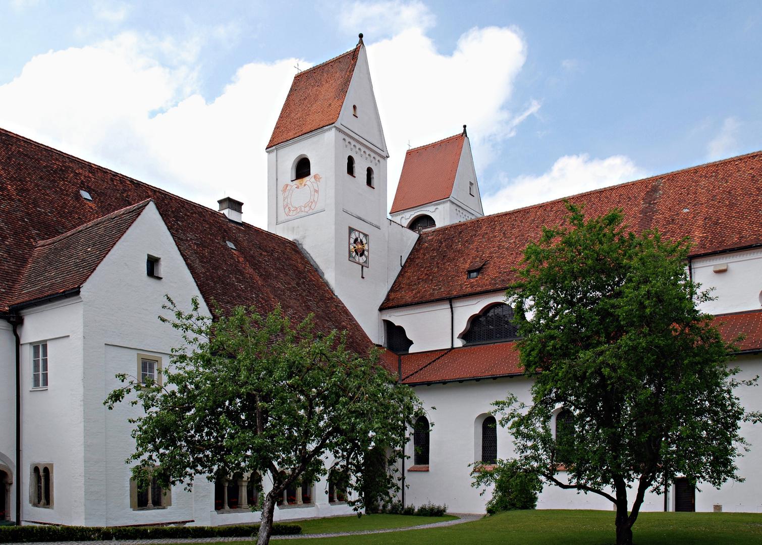 Das Welfenmünster in Steingaden/Oberbayern
