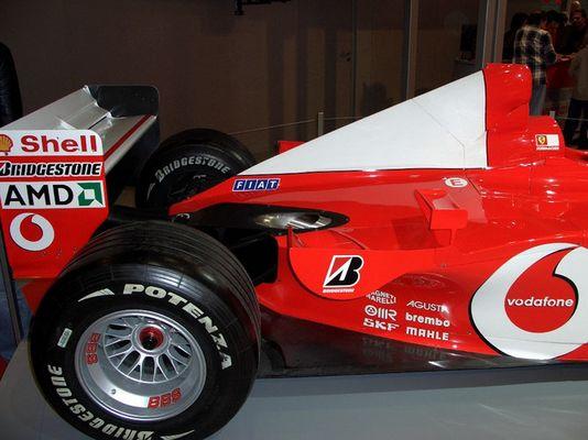 Das Weltmeister Auto 2004