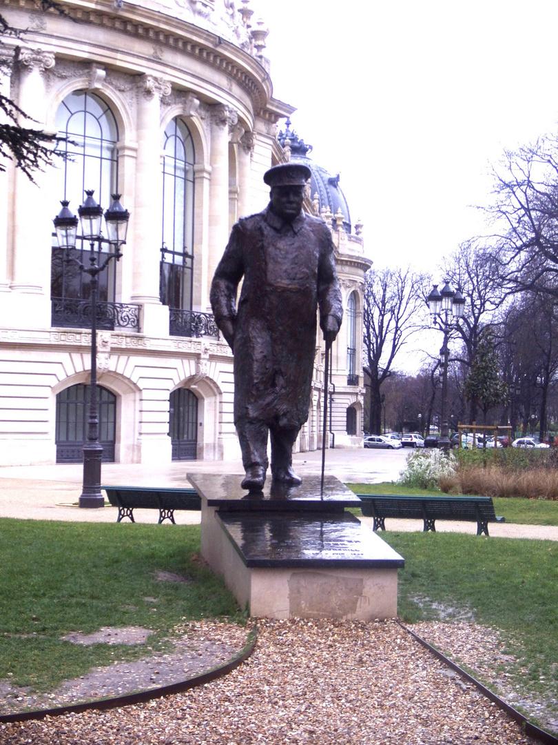 Das Winston Churchill-Denkmal