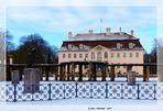 Das Winterliche Branitzer Schloss