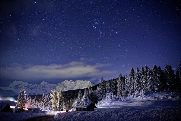 Das winterliche Sternenzelt...