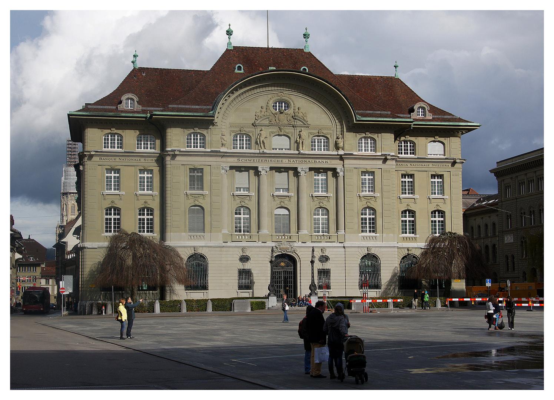 Das Zentrum der Schweizer Finanzwelt
