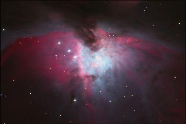 Das Zentrum von Orion M42 Sternwarte Neumarkt,Opf