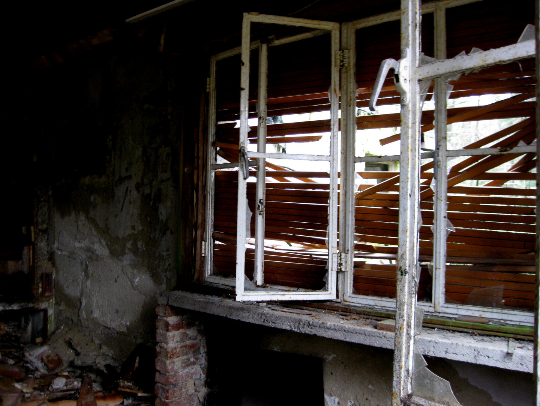 Das zerfallene Gebäude