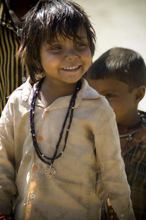 das Zigeunermädchen - Indien, Rajasthan