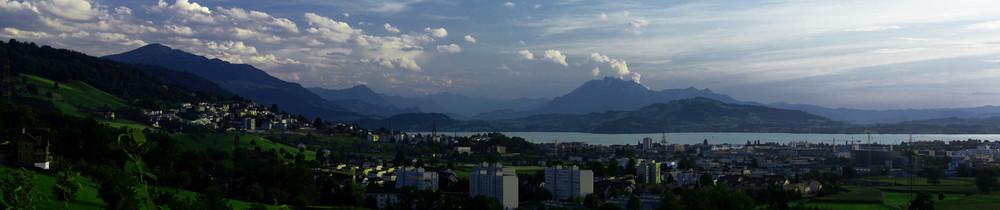 Das Zuger Land in der Schweiz