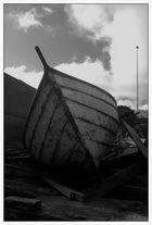 Das zurückgelassene Boot