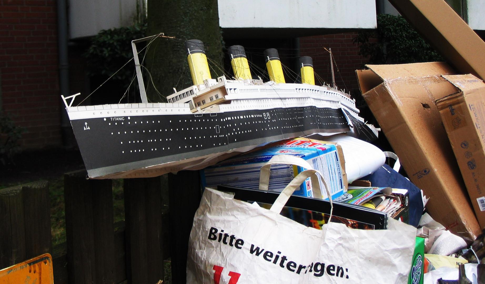 """Das """"Zweite"""" Ende der Titanic"""
