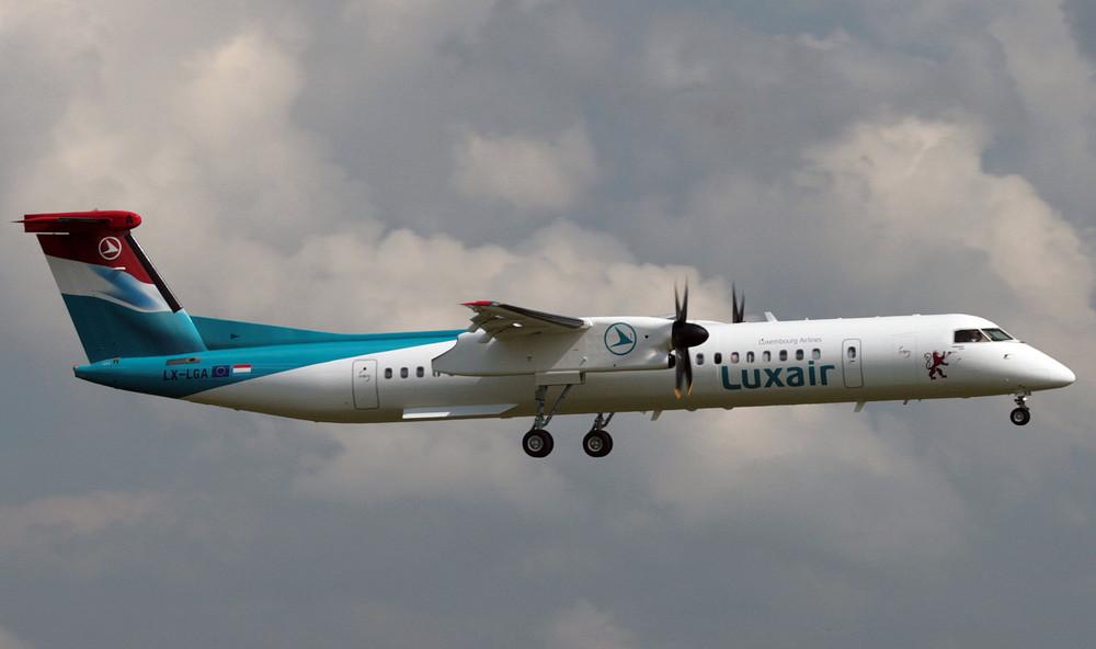 Dash 8 Q400 - Luxair 2