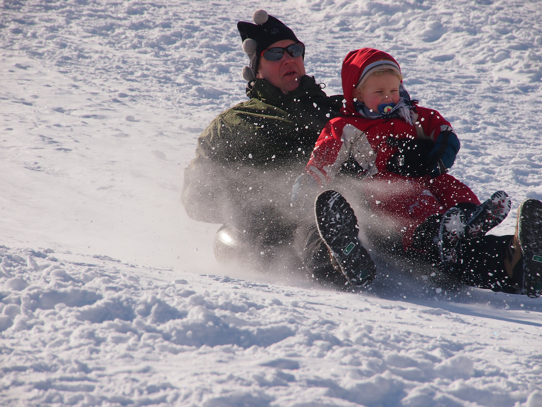 dashing through the snow ....