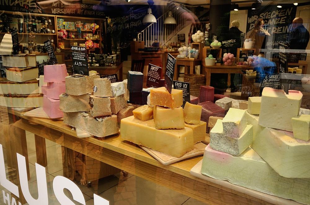 Dass es Käse zum Baden gibt, habe ich auch noch nicht gewußt.