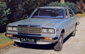 DATSUN Laurel 1980 Silver '230 L' 6 en ligne (2,4l)(2l)Atmo, BVm,BVA
