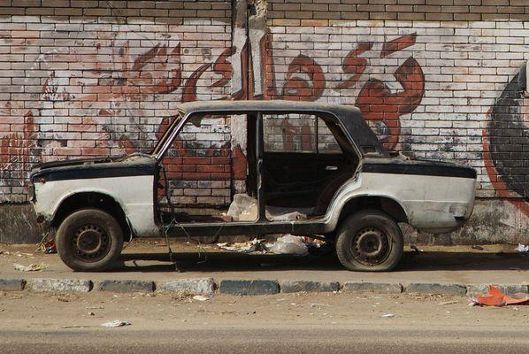 Dauer-Parker, Kairo, Ägypten