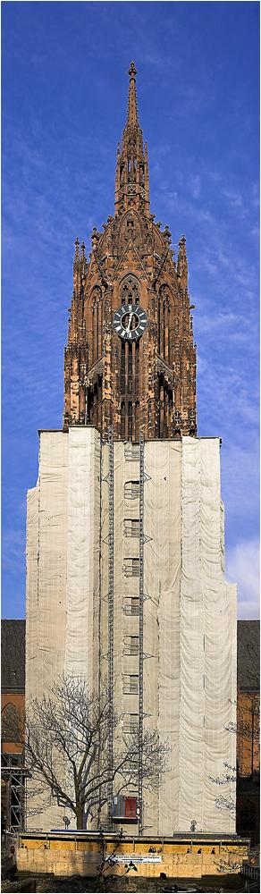 Dauerbaustelle Frankfurter Dom