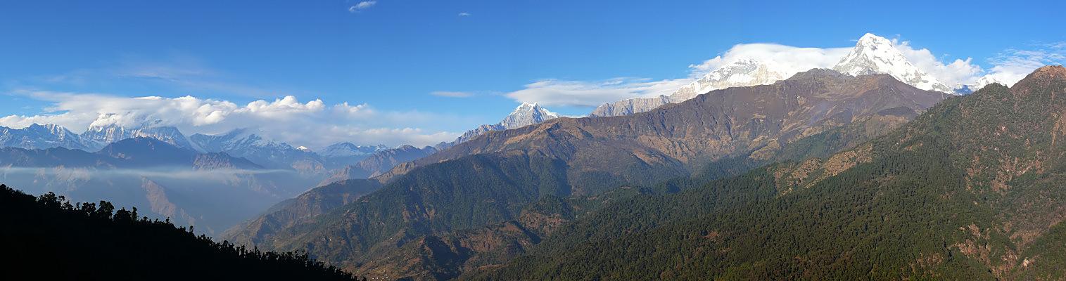 Daulaghiri und Annapurna